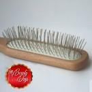 Cepillo mantequilla rectangular madera